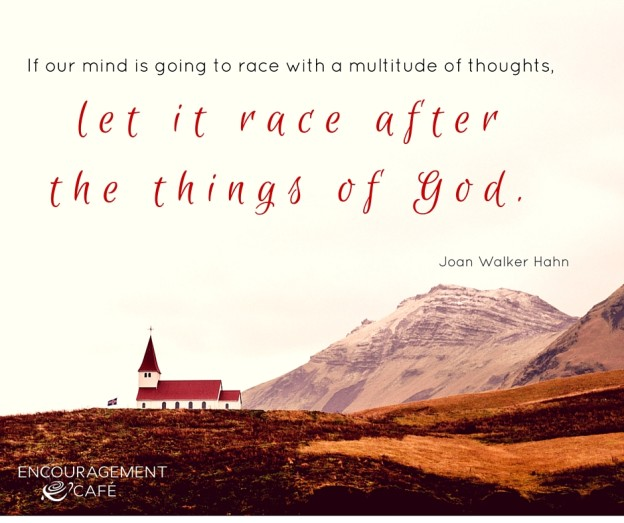 If our minds are going to race-10.13.15