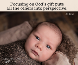 Focusing on God's gift puts all the others into perspective. (2)