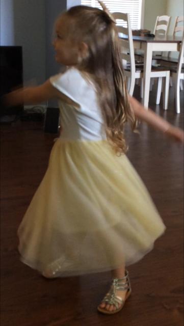 Hadley dancing